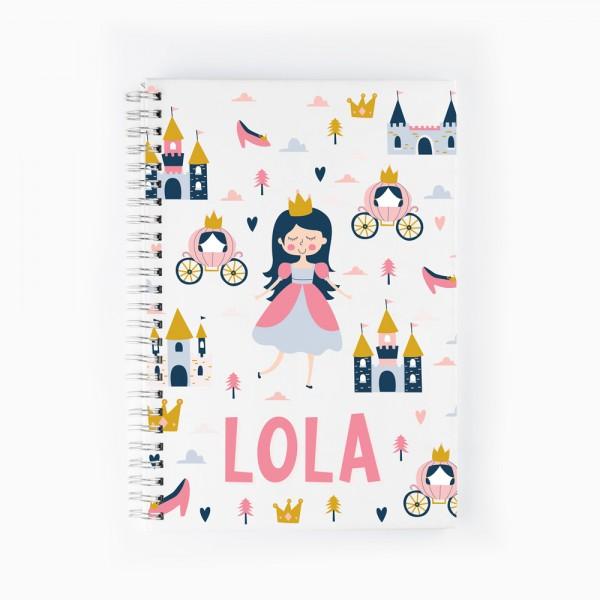 Cuaderno Princesa