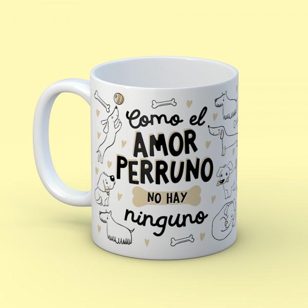 "Taza ""Amor perruno"""