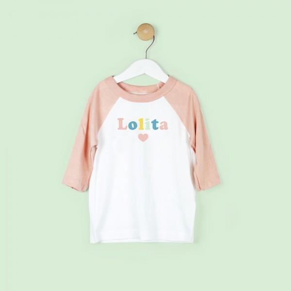 """Camiseta """"nombre"""""""