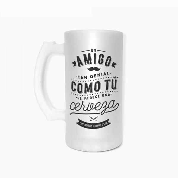 """Jarra de cerveza """"Amigo"""""""
