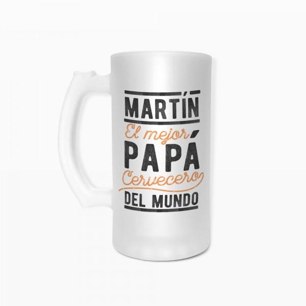 "Jarra de cerveza ""Mejor papá"""
