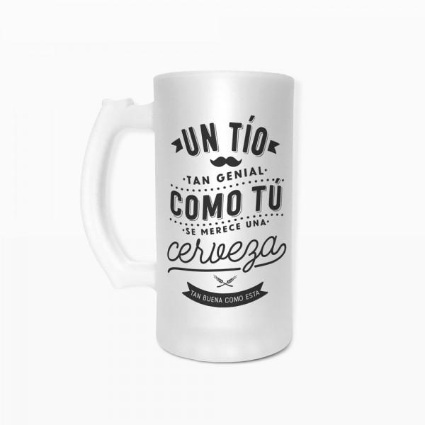 """Jarra de cerveza """"Tío"""""""
