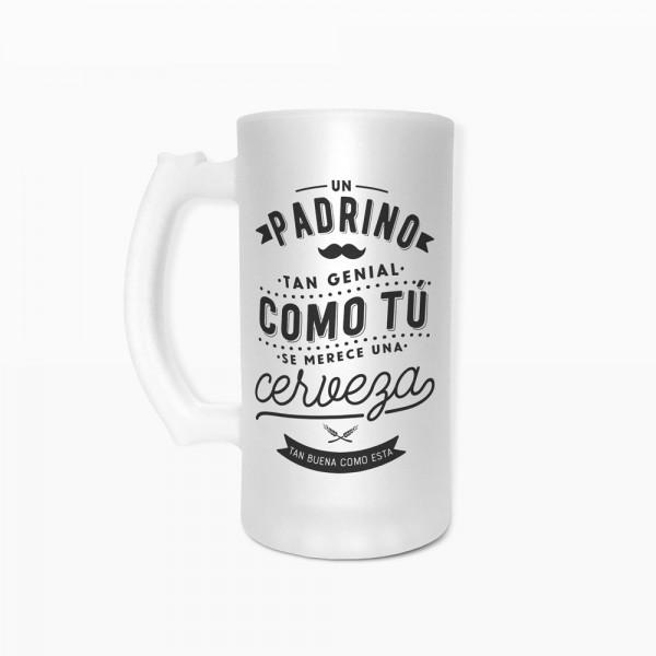 "Jarra de cerveza ""Padrino"""