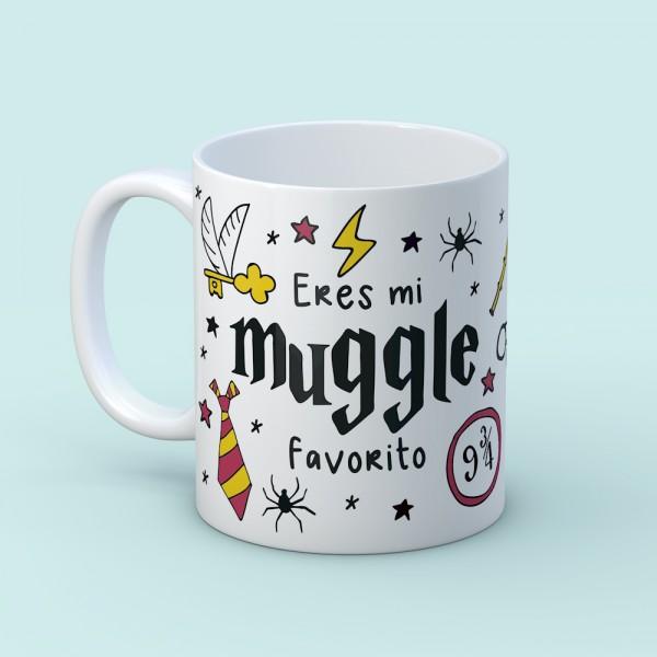 """Taza """"Muggle favorito"""""""