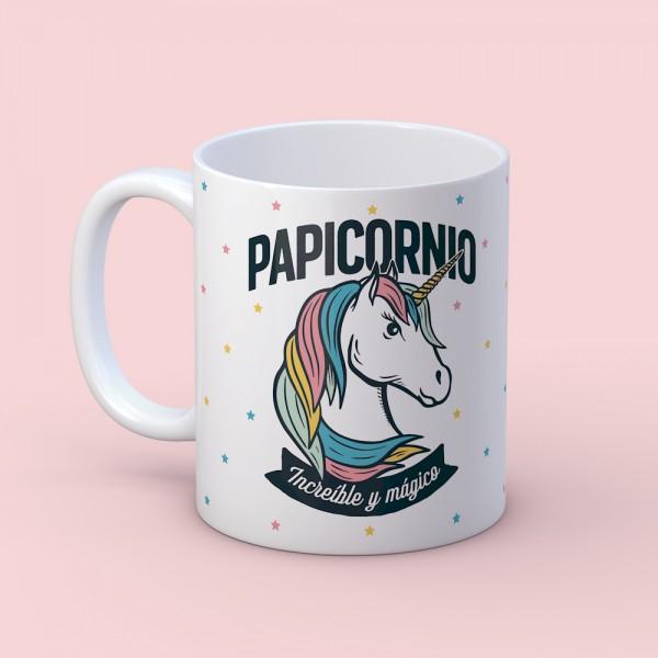 "Taza ""Papicornio"""
