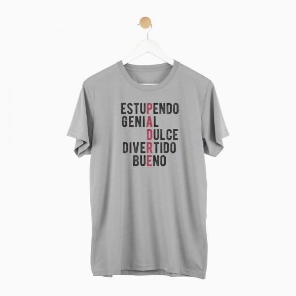 """Camiseta """"Padre palabras"""""""
