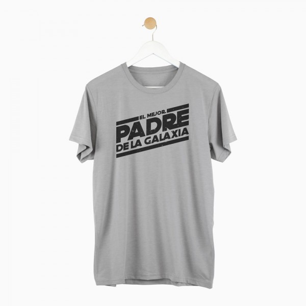 "Camiseta ""Mejor padre de la galaxia"""