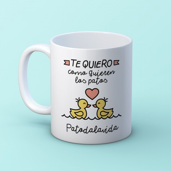 """Taza """"Patoda la vida"""""""