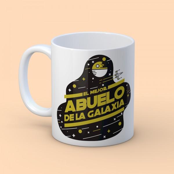 """Taza """"Mejor Abuelo de la galaxia"""""""