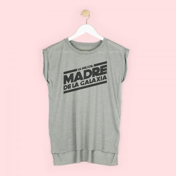 """Camiseta """"Mejor madre de la galaxia"""""""