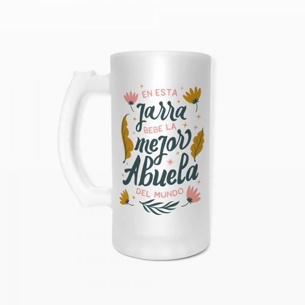 "Jarra de cerveza ""Mejor Abuela"""