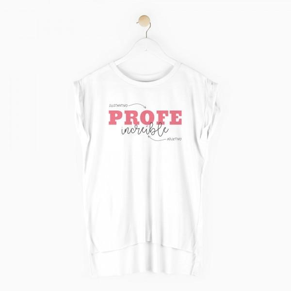 "Camiseta ""Profe increíble"""