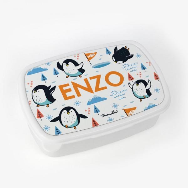 Fiambrera Pingüinos