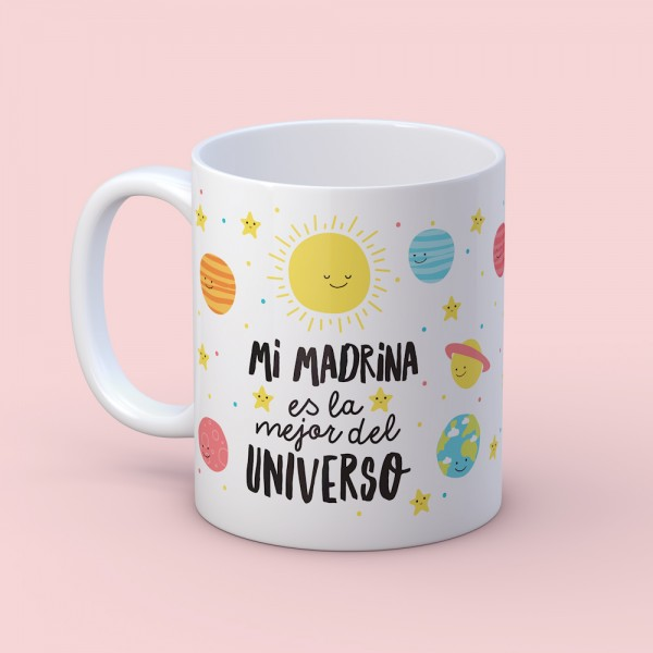"""Taza """"Madrina universo"""""""
