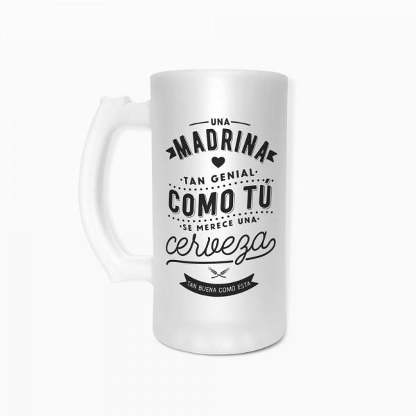 """Jarra de cerveza """"Madrina"""""""