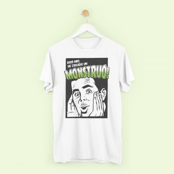 """Camiseta """"He creado un monstruo"""""""
