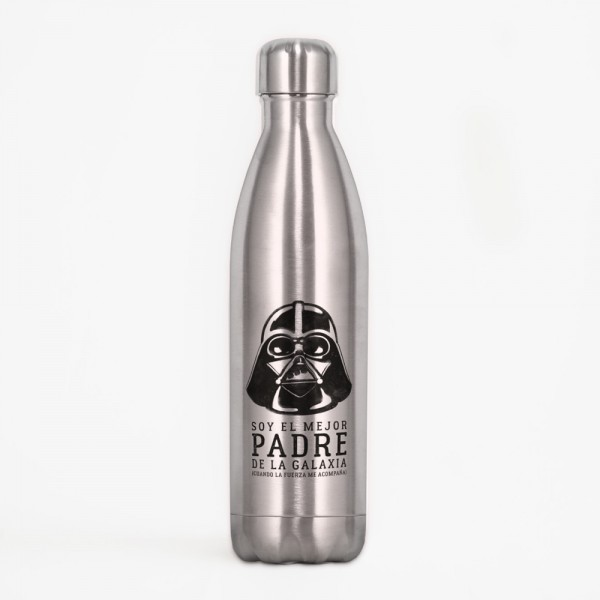 "Botella acero inox ""Vader"""