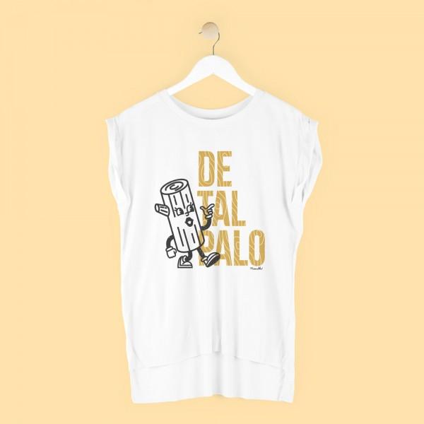 "Camiseta ""De tal palo"" - mujer"