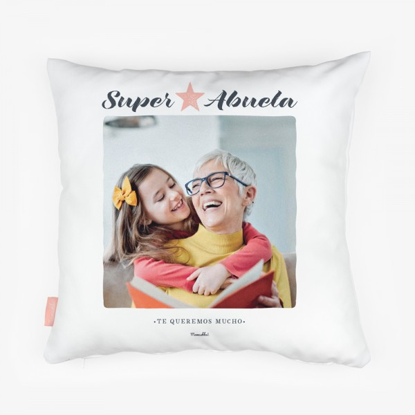"Cojín ""Super abuela"""