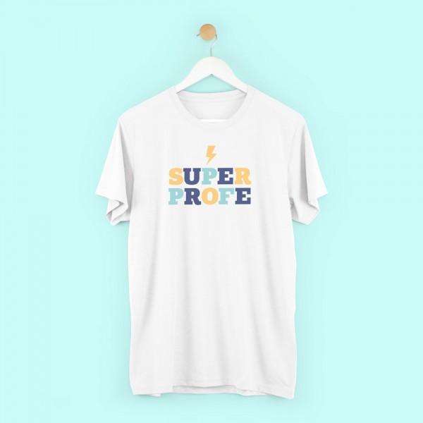 """Camiseta """"Superprofe chico"""""""