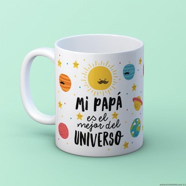 "Taza ""Papá universo"""