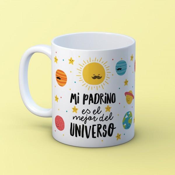 "Taza ""Padrino universo"""