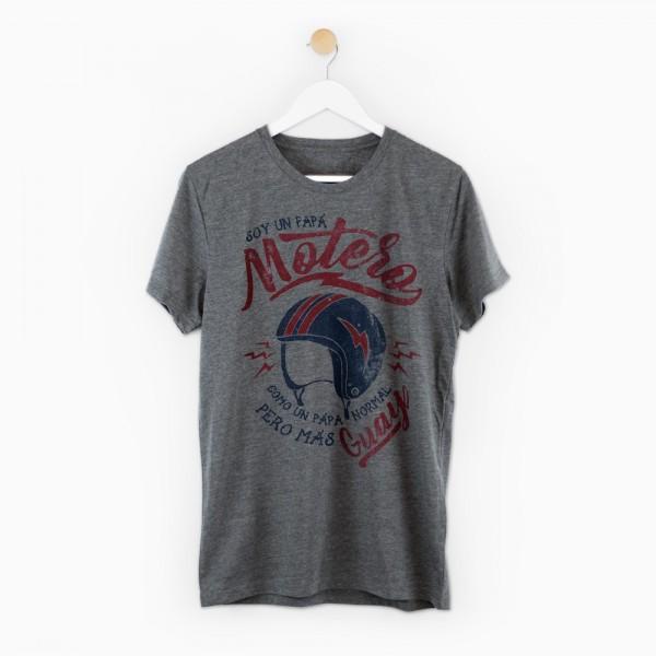 """Camiseta """"Papá motero"""""""