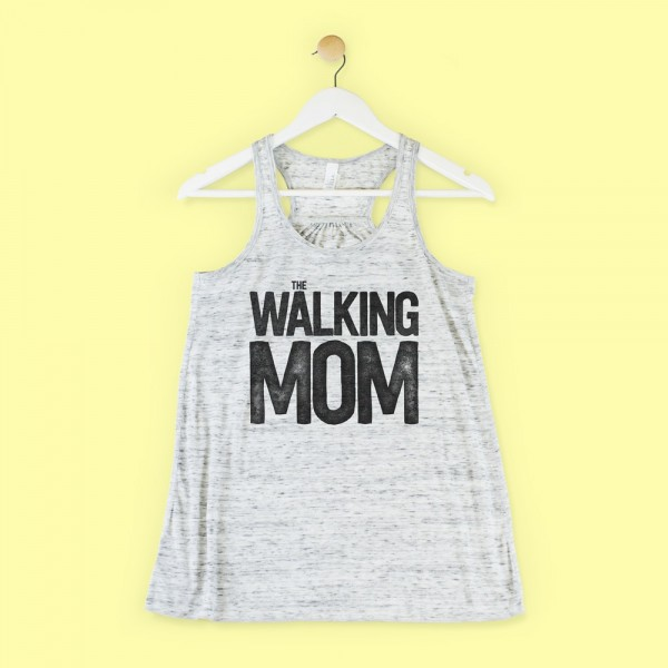 "Camiseta ""The walking mom"""