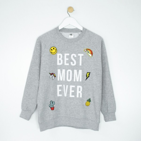 "Sudadera ""Best Mom Ever"""