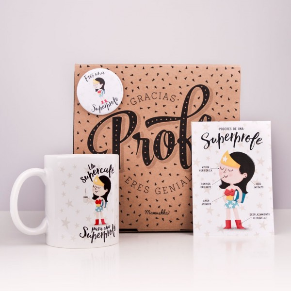 "Kit ""Un supercafé para un Superprofe"""