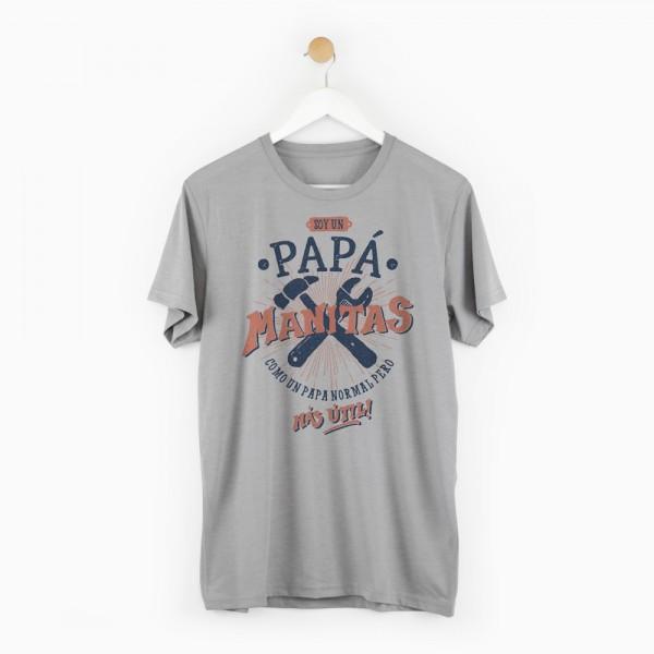 "Camiseta ""Papá manitas"""