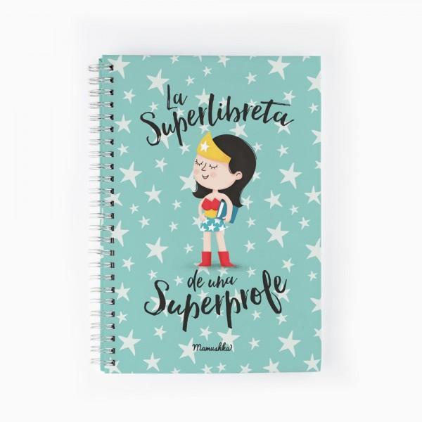 "Cuaderno ""Superprofe"""