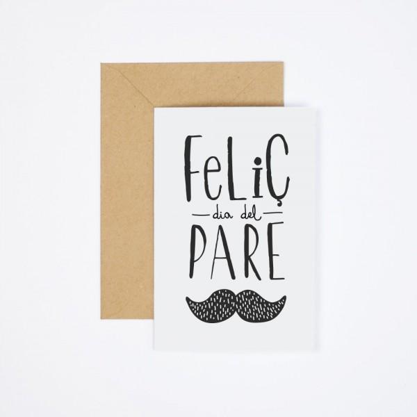 """Postal """"Feliç Dia del Pare"""""""