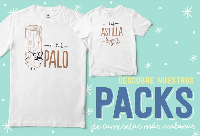 packs de camisetas